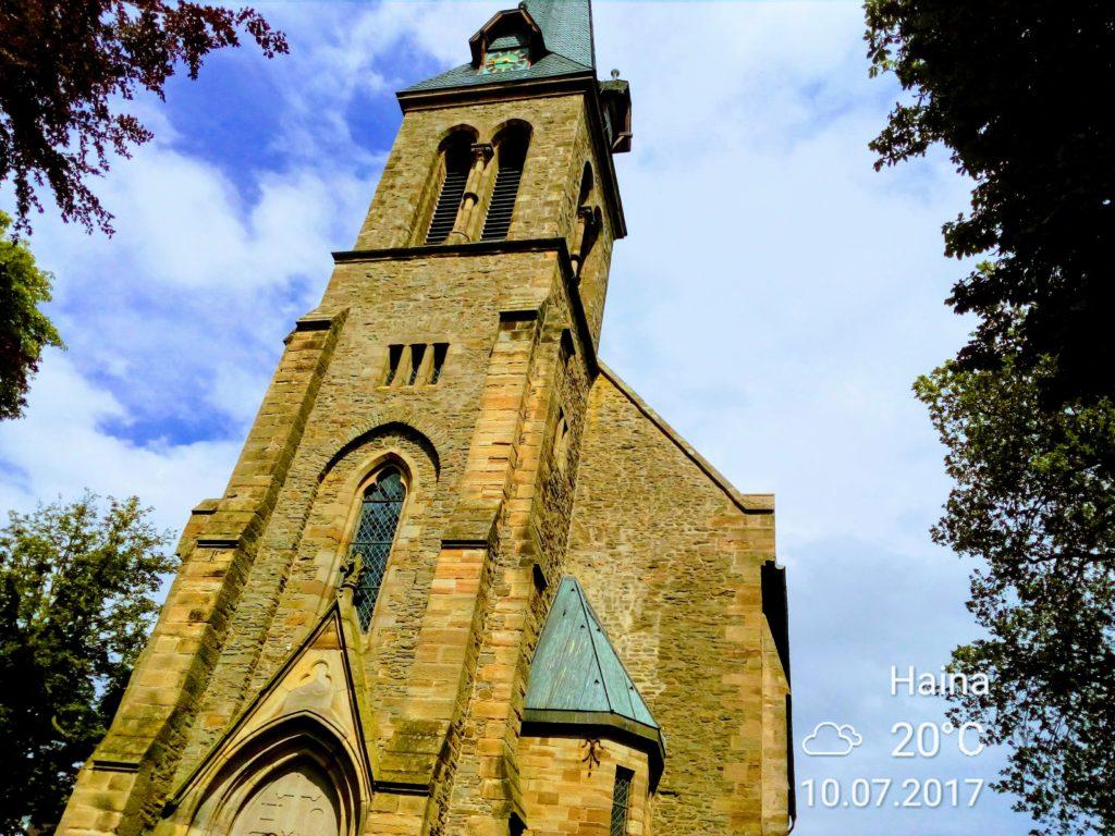 kerk in Frankenau