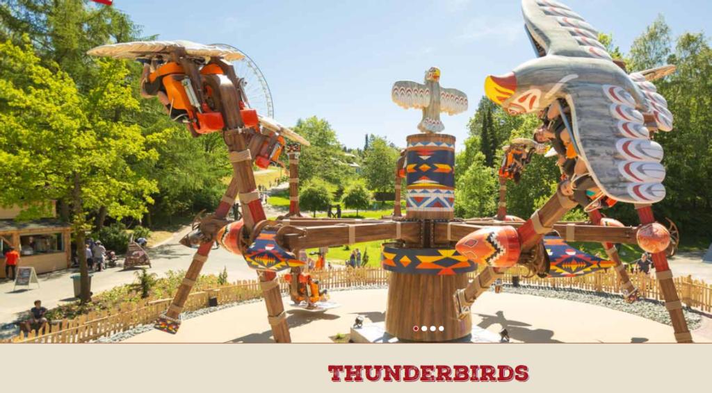 Thunderbird in Fort Fun Sauerland